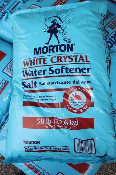 Morton White Crystal Water Softener Salt